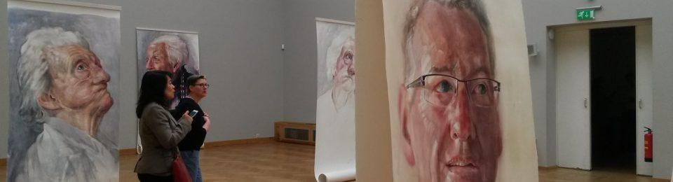 'Gezichten van dementie' in Pulchri